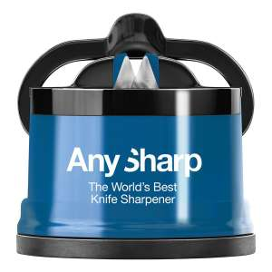 AnySharp with PowerGrip, Blue + 2 Year Warranty for £7.19 @ Robert Dyas (Free Click & Collect)