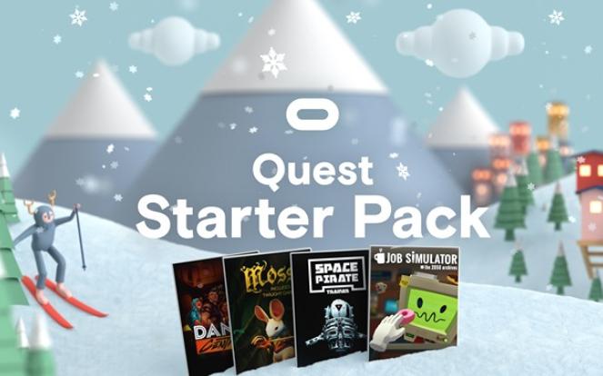 Oculus Quest festive sale Oculus Store e.g Quest Starter Pack £50.48