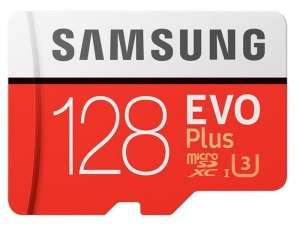 Samsung EVO Plus Micro SDXC UHSI Card with Adapter 128GB for £15.29 with Code Delivered @ Picstop