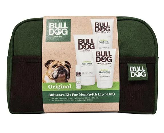 Bulldog Original Skincare Wash Bag Kit £10 @ Superdrug - Free order & collect