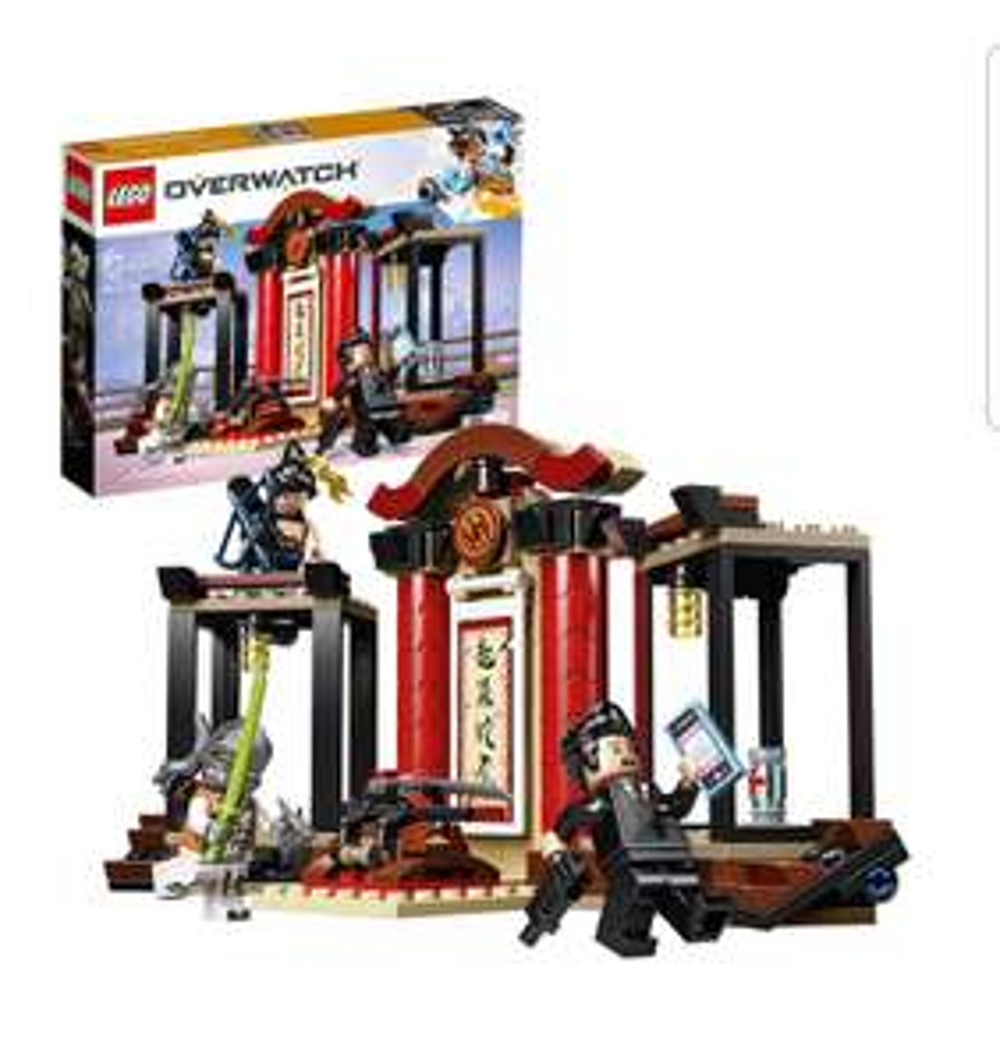 LEGO Overwatch Hanzo vs. Genji Toy 75971 £15 @ Argos