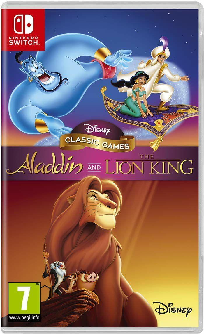 Disney Classic Games: Aladdin and The Lion King - Nintendo Switch - Amazon.co.uk PRIME £19.99 / NON PRIME £22.98