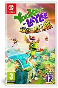 Yooka-Laylee and The Impossible Lair - Nintendo Switch - Amazon.co.uk PRIME £19.99 / NON PRIME £22.98