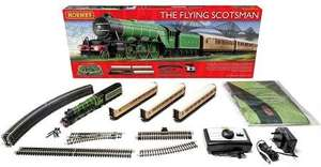 Hawkins Bazaar online R1167 Hornby Flying Scotsman Train Set £94.99