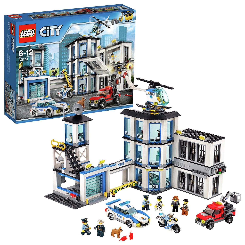 LEGO City Police Station, Helicopter Car & Bike Toys - 60141 £52 Argos