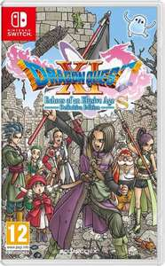 Dragon Quest XI S: Echoes of an Elusive Age - Definitive Edition Nintendo switch £34.99 GAME