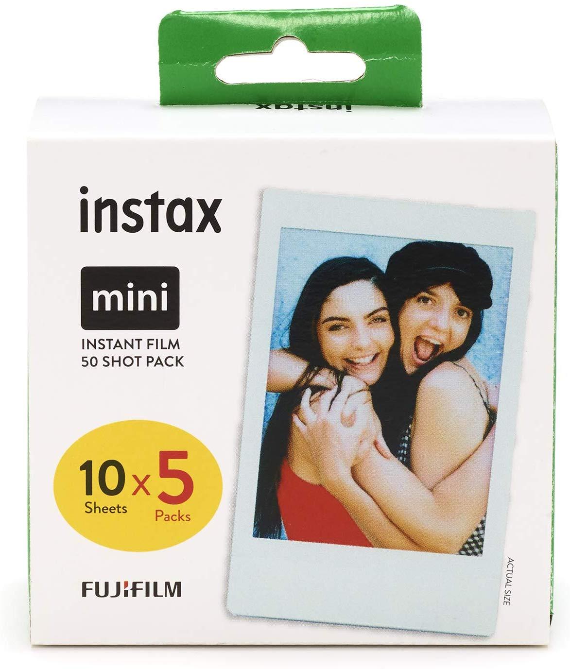 Instax mini film 50 shot pack £29.99 Amazon