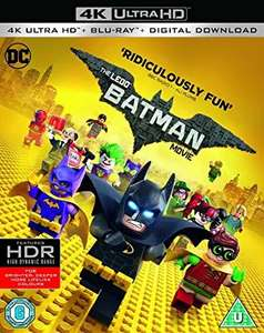 Lego Batman movie 4k UHD+blu ray+digital download £9.99 @ Amazon prime (£2.99 p&p non prime) 4%tcb