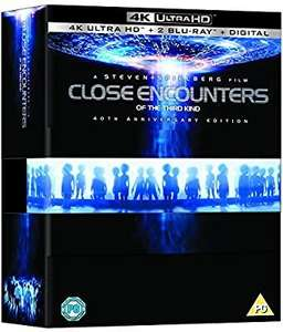 Close Encounters of the third kind 40th anniversary 4k gift set £24.99 @ Amazon 4%tcb