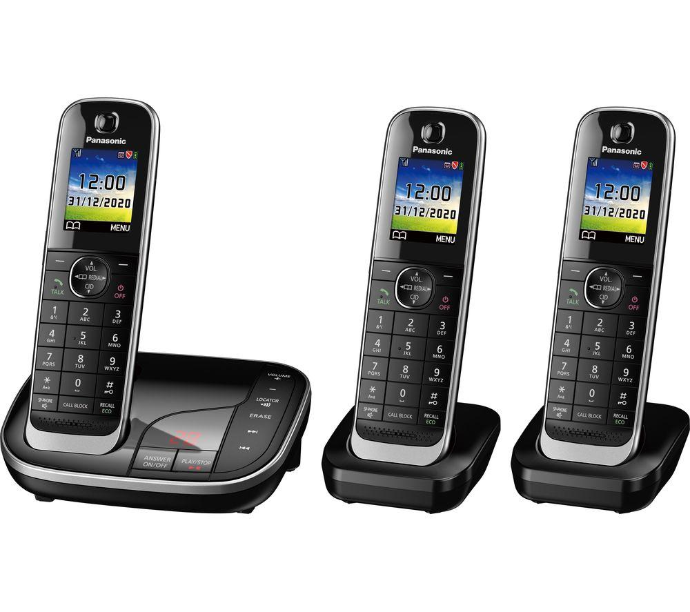 Panasonic KX-TGJ423EB Digital Cordless Phone Trio Dect - £19.99 or Panasonic KX-TGJ424EB Quad Dect £39.99 @ John Lewis & Partners (in-store)