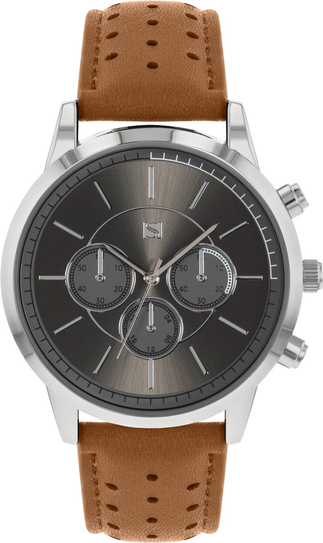Spirit Men's Brown Faux Suede Strap Watch - £7.99 (was £16.99) @ Argos (Free Click & Collect)