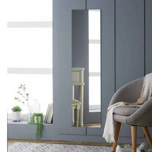 Home Full Length Frameless Wall Mirror £5 / Home Framed Mirror White £3.50 (more in post) @ Argos (free click and collect)