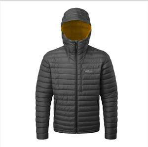 Rab Mens Microlight Alpine Jacket - Beluga now £156 delivered reduced from £195 @ The Climbers Shop