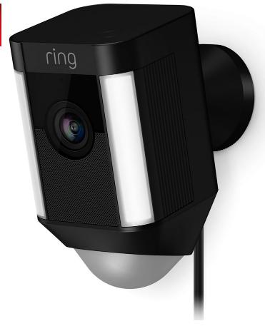 Ring spotlight camera Black £139 @ Currys