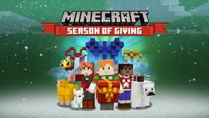 Minecraft - Season of Giving (free map and skin pack)