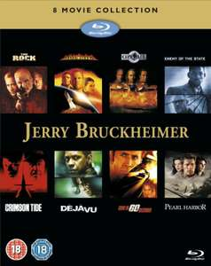 Jerry Bruckheimer 8 Movie Action Collection [Blu-ray] £14.99 @ zoom