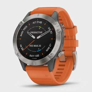 Garmin fenix 6 titanium sapphire - £699 / £575.99 with price match + £2.99 delivery @ Millets