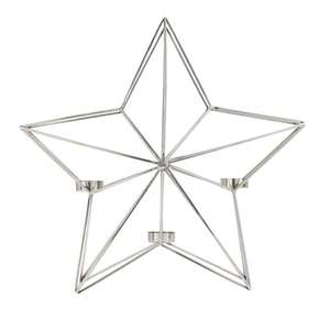 Argos Home Winters Cabin Star Tealight Holder £2.40 (Free Click and Collect)
