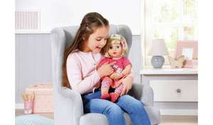 Baby Annabell Talk Back Julia Doll - Clearance Offer £30 @ Argos (Free C+C)