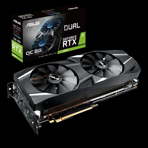 Asus GeForce RTX 2070 8 GB DUAL OC Video Card £323.91 @ Encore PC
