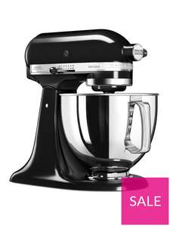 KitchenAid 125 Artisan 4.8L Stand Mixer - Onyx Black £279.99 @ Very