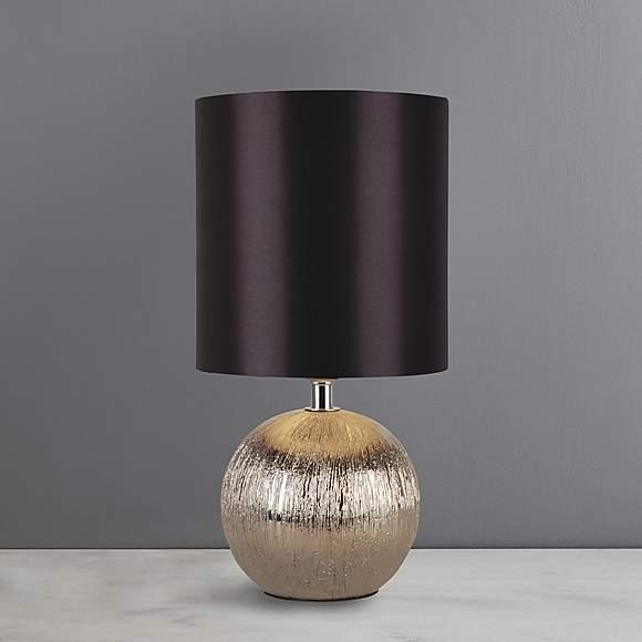 Adana Black/Plum Mini Ceramic Touch Lamp now £6 (More In OP) @ Dunelm