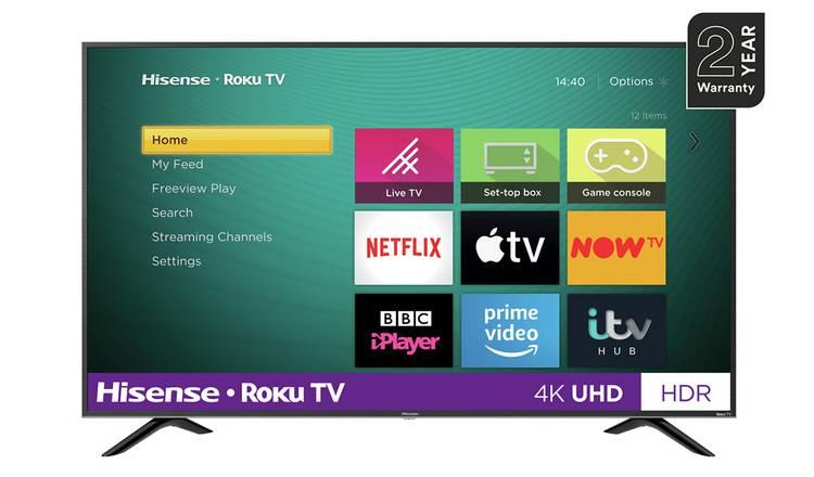 Hisense 43-inch 4K Roku TV R43B7120UK £249 @ Argos