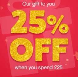 25% off a £25 spend @ Lovehoney