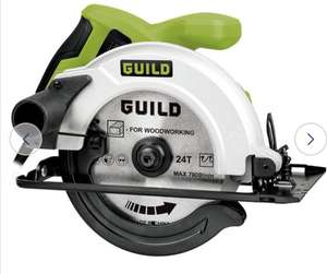 Guild 160mm Circular Saw - 1200W - £30 + Free Click and Collect @ Argos