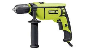 Guild 13mm Keyless High Power Corded Hammer Drill – 750W £20 @ Argos (Click & Collect)