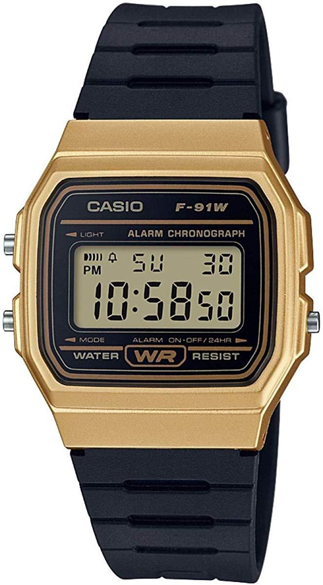 Casio Men's Black Resin Strap Digital Watch f-91wm-9aef - £11.49 Free C&C @ Argos
