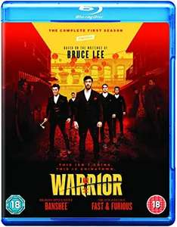 Warrior season 1 blu ray £18.00 @ Amazon prime (£2.99 p&p non prime)4%tcb