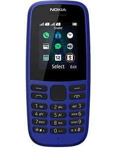 Nokia 105 V5 Free with £10 top up on EE @ Carphone Warehouse