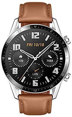 HUAWEI Watch GT2 - Classic 46 mm - Pebble Brown £193.36 @ Amazon