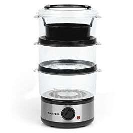 Salter EK2726 7.5L Healthy Cooking 3-Tier Food Rice Meat Vegetable Steamer £14.99 @ Robert Dyas (Free Click & Collect)