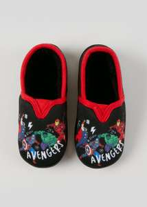 Marvel Avengers Children's Size 7 Slippers, Now £3.50 @ Matalan ( Free Click & Collect )