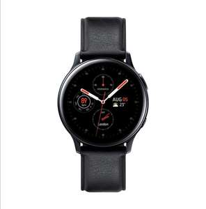 Samsung Galaxy Watch Active2 4G LTE Stainless Steel 40mm - Black £249 (£199 With Cashback) @ Amazon