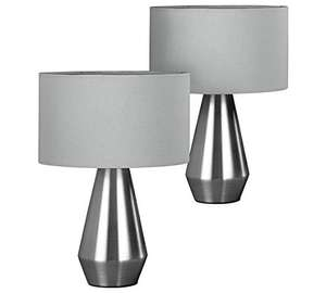Habitat Maya Pair of Touch Table Lamps £13.33 @ Argos - (Free Click and Collect) Choice of Grey, Silver & Cream, Gold &White, more in thread