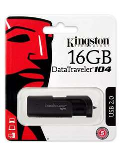 Kingston 16GB DataTraveler 104 USB Flash Drive for £2.99 delivered at MyMemory