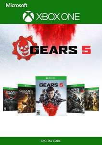 [Xbox One] Gears 1 - 5 Bundle - £15.99 @ CDKEYS
