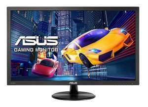 ASUS VP278H, 27 Inch FHD (1920 x 1080) Gaming Monitor, 1 ms, HDMI, D-Sub, Low Blue Light, Flicker Free, TUV Certified £119.99 @ Amazon