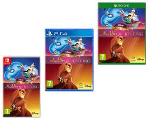 Disney Classic Games: Aladdin and The Lion King (Nintendo Switch / PS4 / Xbox One) - £17.99 delivered @ Smyths