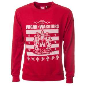 Wigan Christmas Sweatshirt (free C&C) for £5 was £24.99
