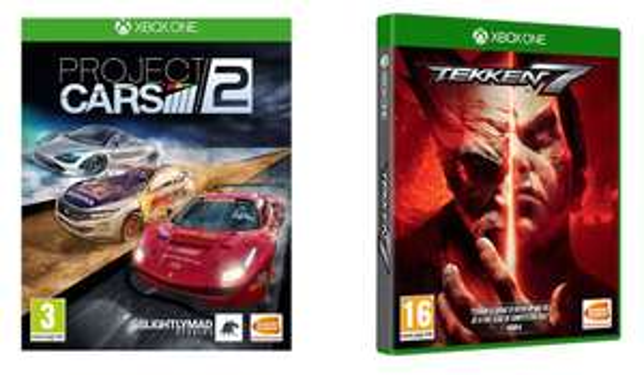 Tekken 7 & Project Cars 2 (Xbox One) - £4.99 @ Currys PC World