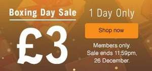 Audible boxing day sale - £3 for loads of audiobooks (Members, 1 day only)