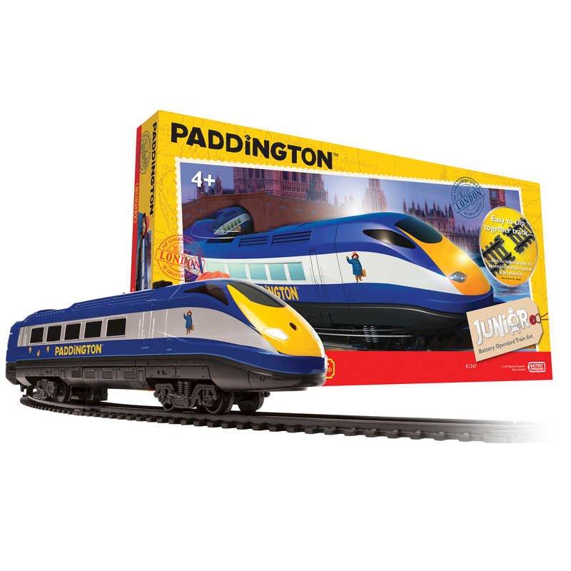 Hornby Junior Paddington Bear Train Set - R1247 £20.98 delivered @ Hawkins Bazaar