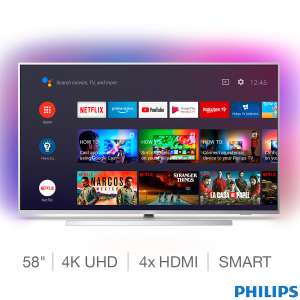 Philips 58PUS7304/12 58 Inch 4K Ultra HD Smart Ambilight TV at Costco for £479.98