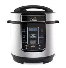 Pressure King Pro 8-in-1 Electric Pressure Cooker 3L, 700W Chrome Multicooker for £35.00 at ebay
