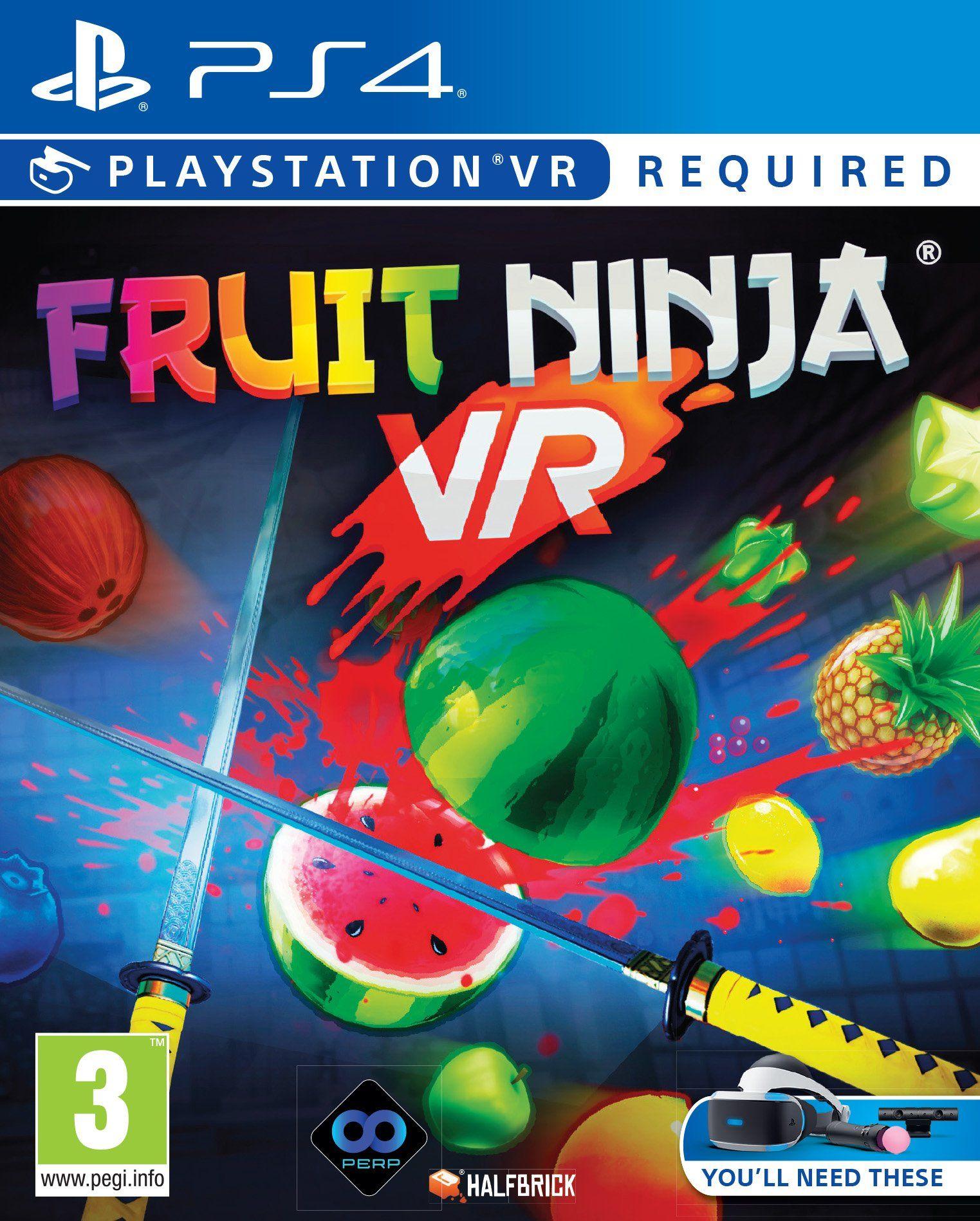 Fruit Ninja VR - PSVR PS4 Playstation 4 for £7.99 @ GAME