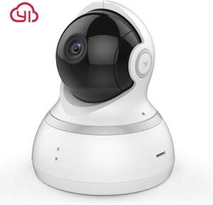 YI Dome Camera 1080p HD Pan/Tilt/Zoom Wireless IP £27.49 delivered at Amazon